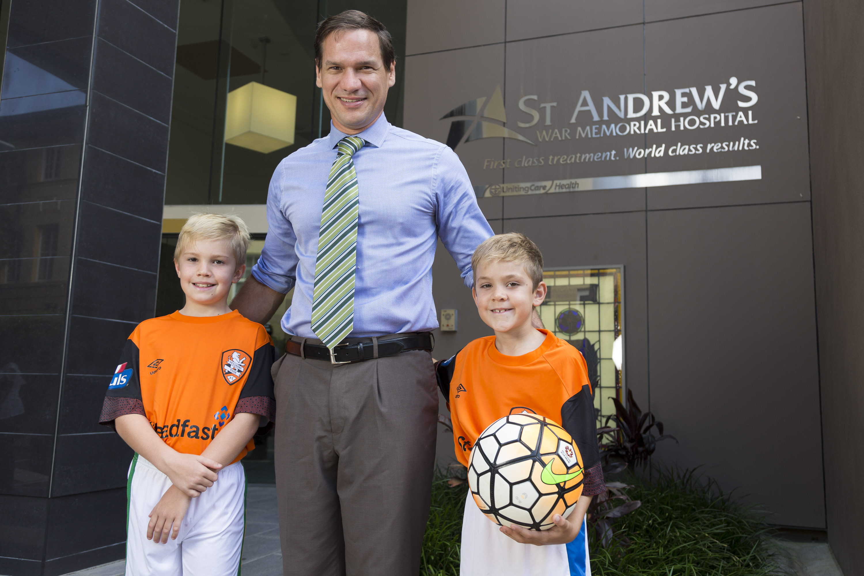 Brisbane Roar Sports Injury care - Greg Sterling Orthopaedics